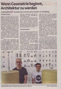 Aachener Nachrichten vom 6.6.2015