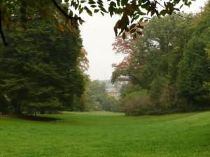 Sichtachse Schlosspark Amstenrade